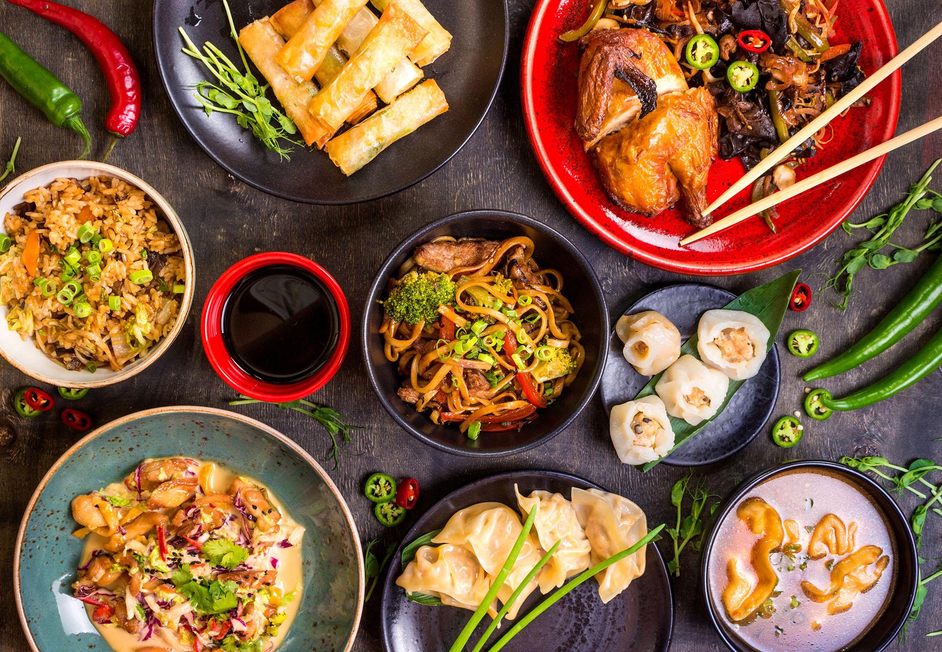 Restaurang i avesta one na thai take away for Piatto tipico cinese